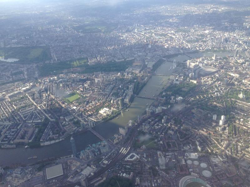 Hyde Park, Green Park, St James Park, London Eye, Waterloo Station & bridges