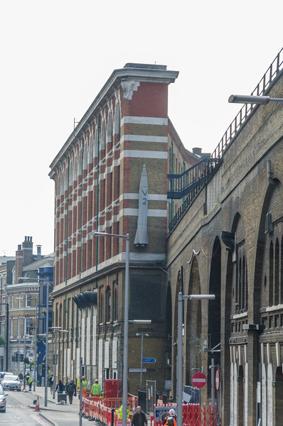 London Bridge station & V2 model