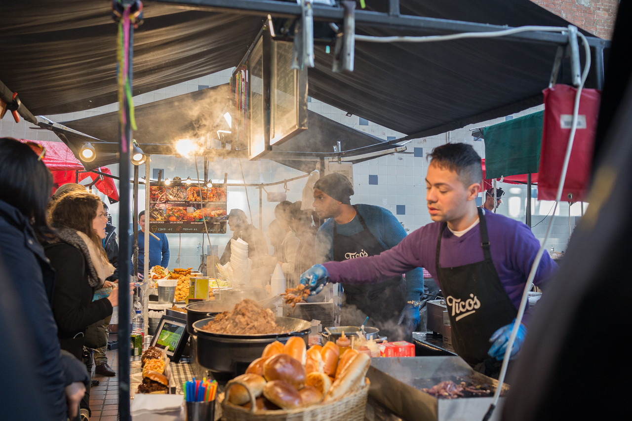 Food Market at Brick Lane London