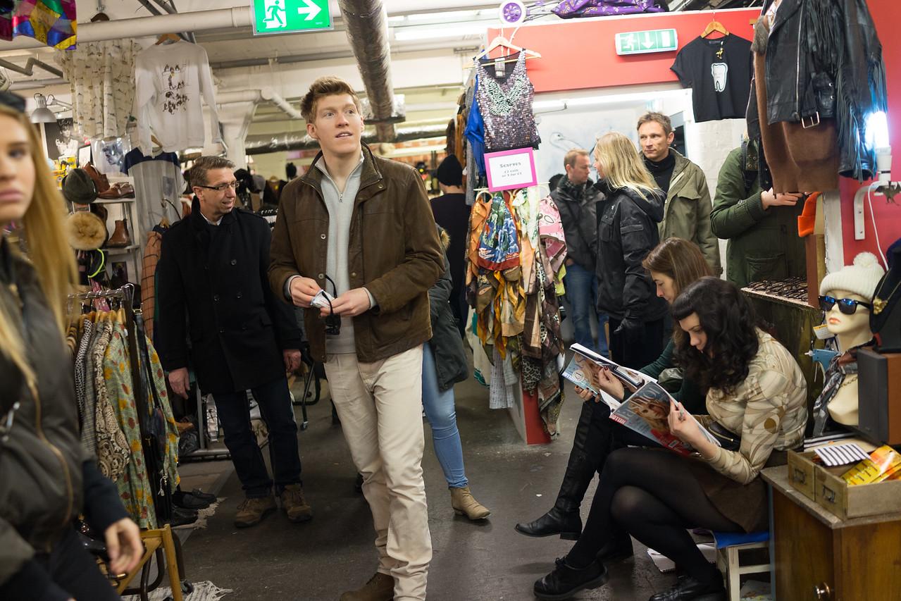 Market at Brick Lane London
