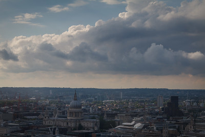 Clouds Over St Pauls