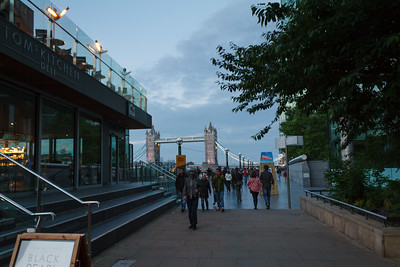 Dusk on South Bank
