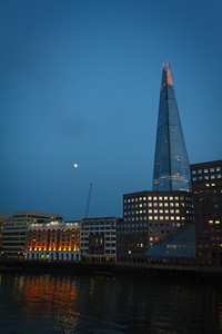 Moon and the Shard