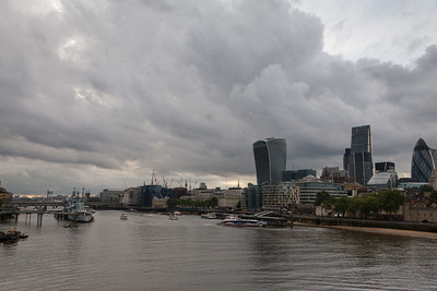 Thames and the City Cloudscape