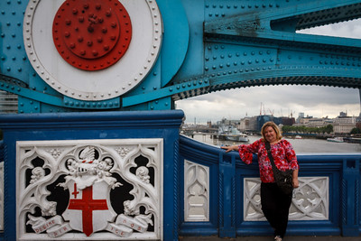 Lauralea on the Tower Bridge