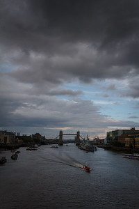 The Thames from London Bridge