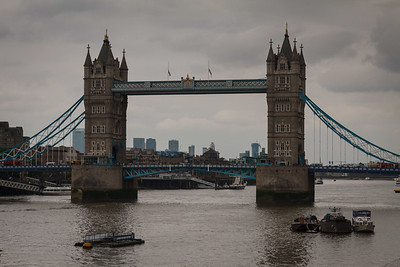 Gloomy Tower Bridge