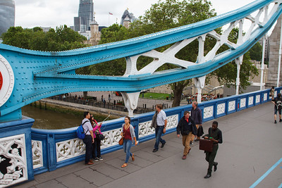 Tower Bridge Tourists