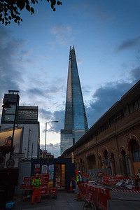 The Shard from Crucifix Lane