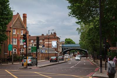 Looking Down Tower Bridge Road
