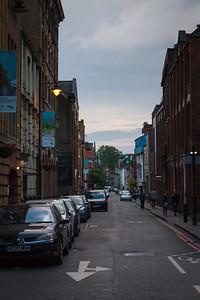 Bermondsey Street from Crucifix Lane
