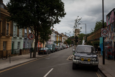 Hartland Road From Chalk Farm Road