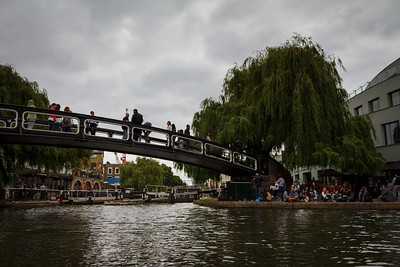 Camden Market From The Water Bus