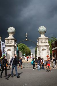 Rain Clouds Over Greenwich