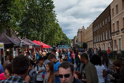 Street Market In Greenwich