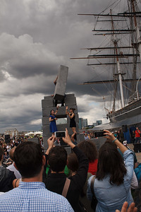 Acrobats At The Cutty Sark