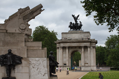 The War Memorial and Wellington Arch