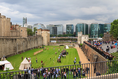Jousting at the Tower of London