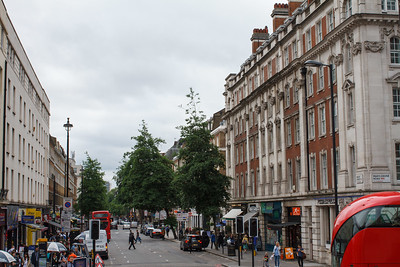 Marylebone Road and Baker Street