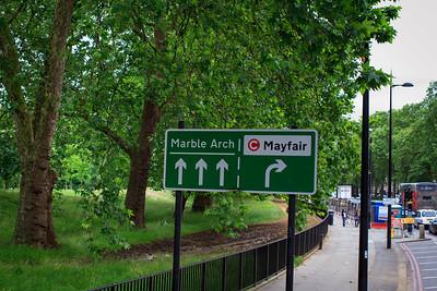 Wayfinding Near Hyde Park