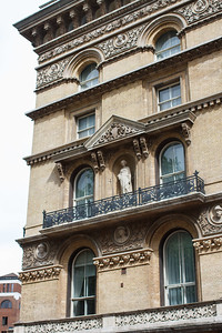 Facade Details Near Grosvenor Square