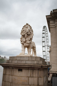 Lion At The Queen's Walk