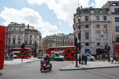 Trafalgar Square Traffic