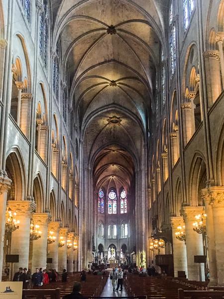 Inside Notre Dame - IMPRESSIVE!