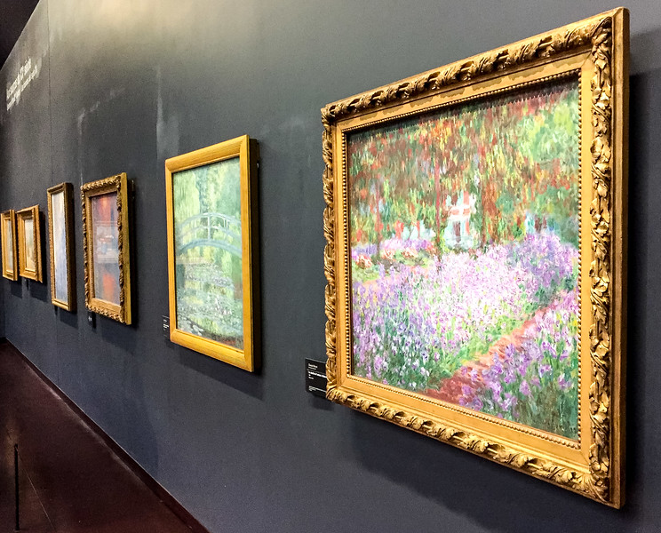 A bunch of Monet's at the Musee d'Orsay