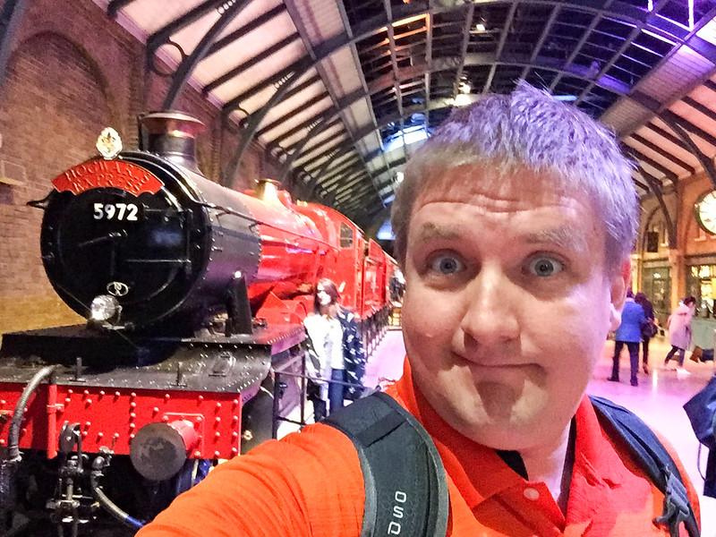 Selfie Time - Hogwarts Express