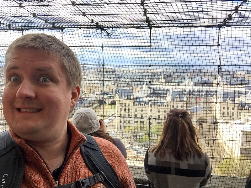 Selfie Time - Notre Dame