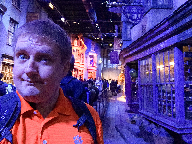 Selfie Time - Diagon Alley