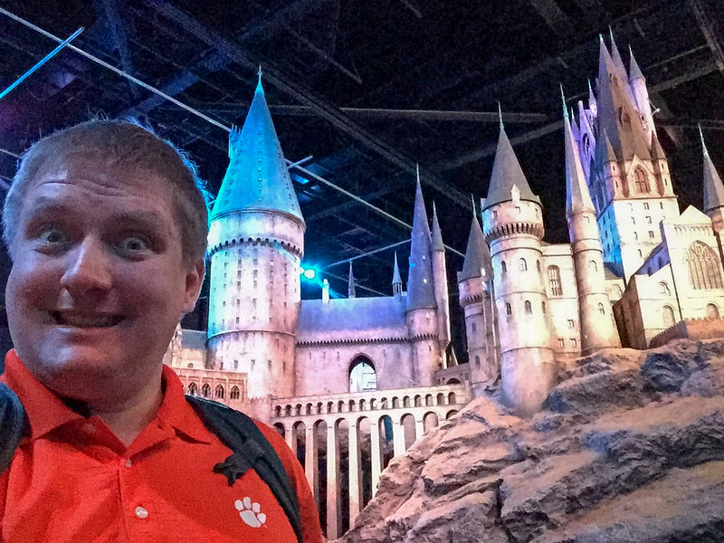 Selfie Time - Hogwarts model