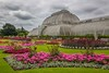 The Orangerie which houses tropical plants from around the world