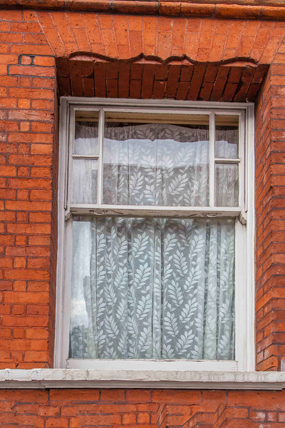 Sometimes a window is just a window. This one, though, is in Bertrand Russel's building.