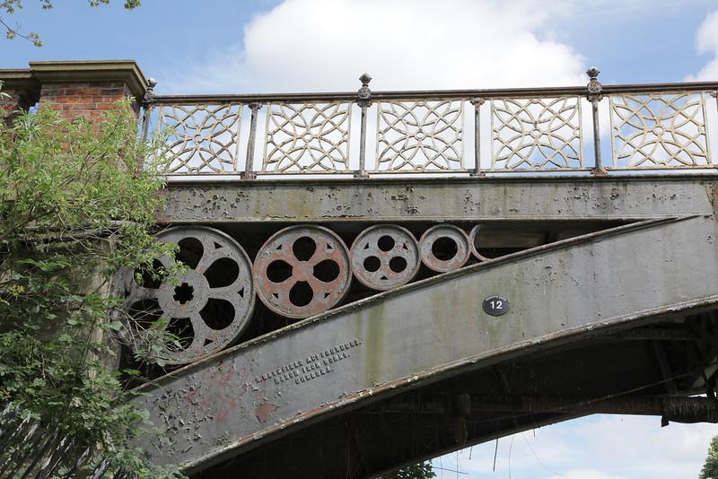The second of three bridges