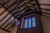 Our B&B in Selborne was a converted church