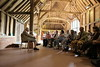 In the Gilbert White (The Wakes) Barn, a Community History Lecture