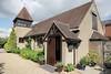 Our B&B, a converted church, in Selborne