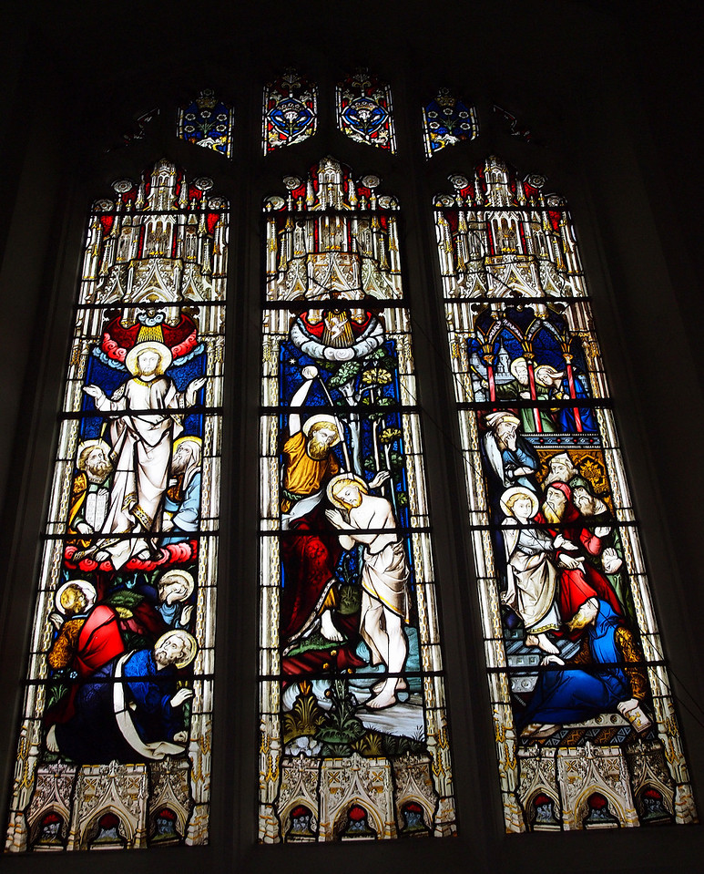 Stained Glass at King's College