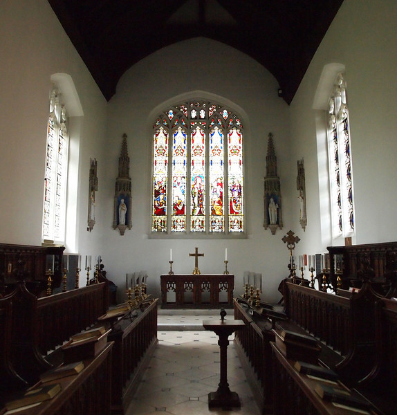 One of the college chapels in Cambridge.