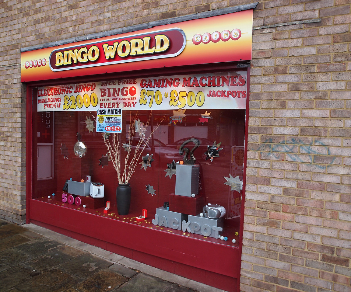 The Bingo World at Canterbury - probably not there in 1500.