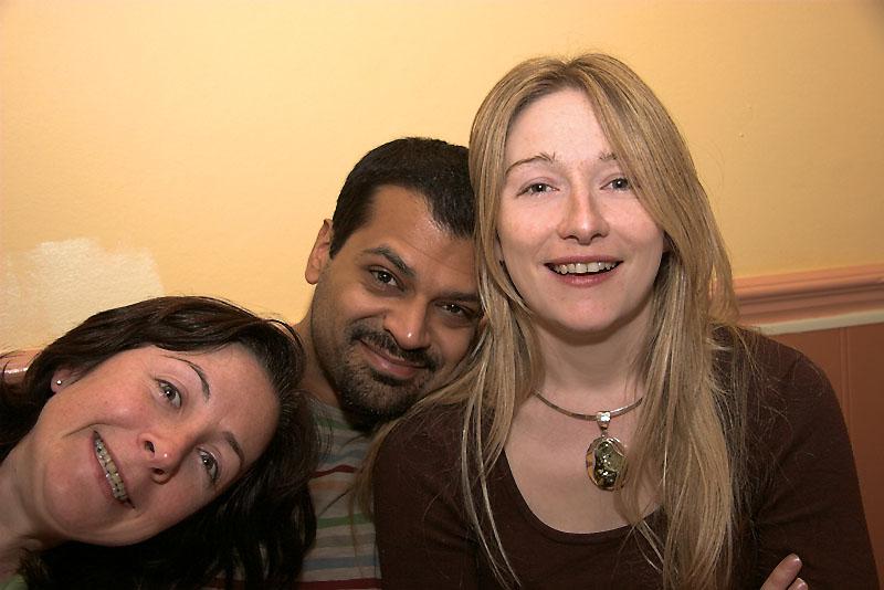 Helena, Gurv and Tanya