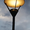 lamp on River Thames south side