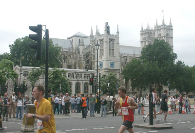 London Race Westminister Abbey 070305