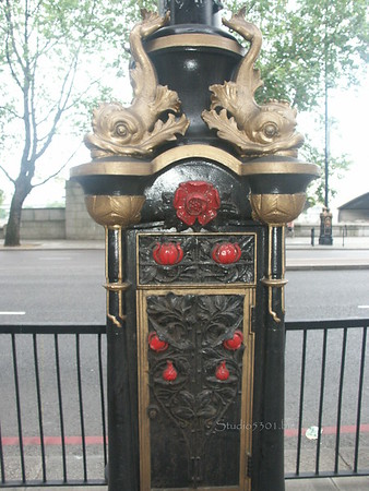 London lamp post