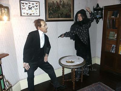 Sherlock Holmes Museum London wax