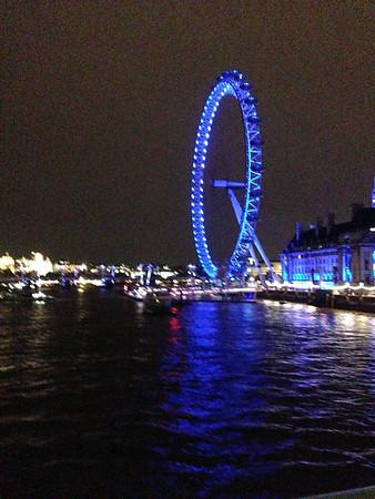 London Eye, London, England, July, 2014