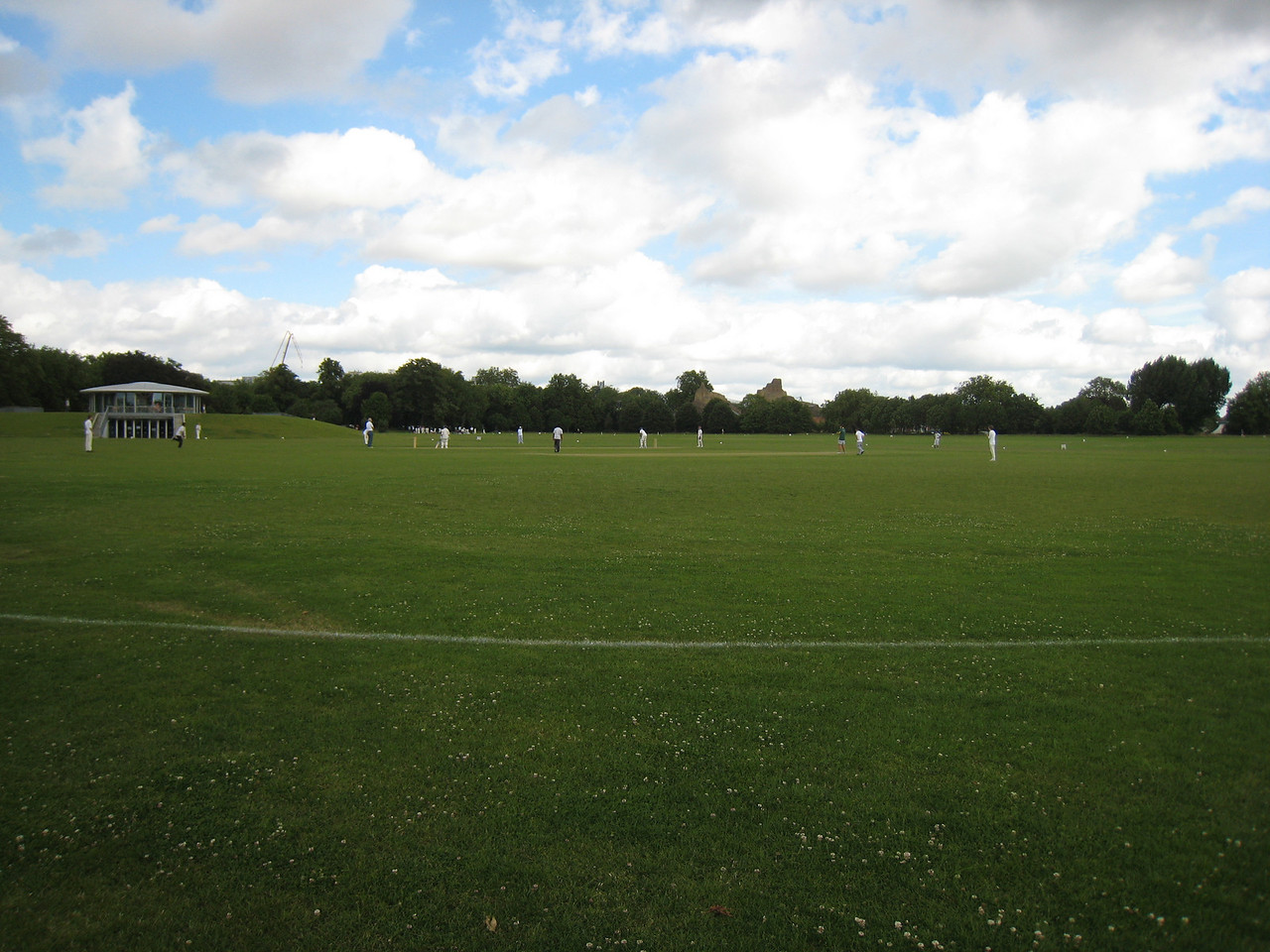 A cricket match in Regent's Park