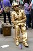 Human Street Statue.